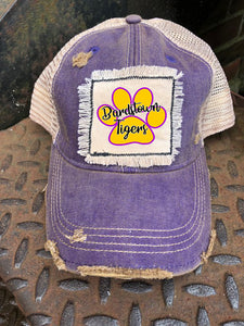 Distressed Patch Bardstown Tigers hat