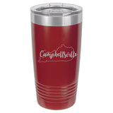 Stainless Steel/Powder Coated Tumbler