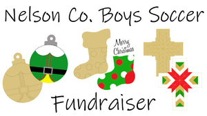 Christmas Paint Party.....Nelson County Boys Soccer Fundraiser