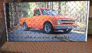 Diamond Plate photo 12x24