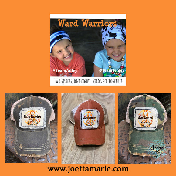Ward Warriors Distressed Hat