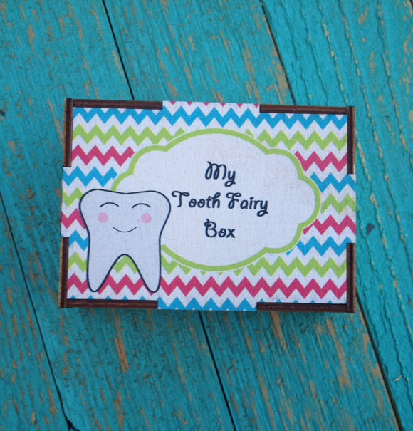 Wooden Tooth Fairy Box