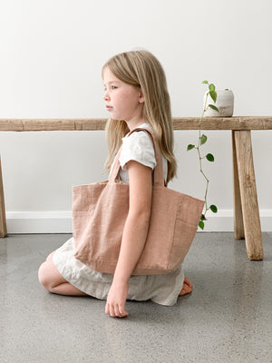 MINI Ramie Bag - Blush