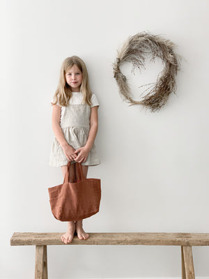 MINI Ramie Bag - Rust