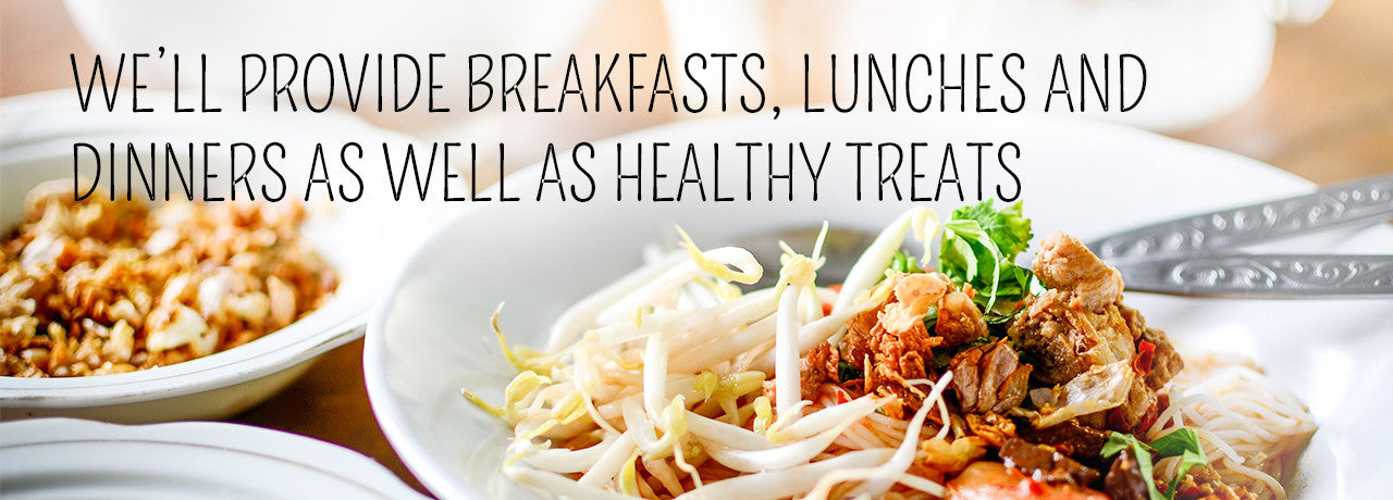Breakfasts, Lunches, Dinners and Treats