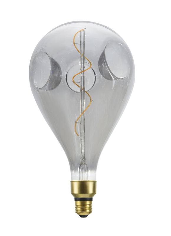 # 10008-21 A160 Vintage Edison Decorative LED Light Bulb, 4 Watt Medium (E26) Base, Smoke