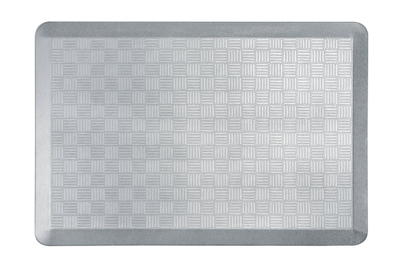 # 18002-62 Anti-Fatigue, Ergonomically Engineered, Non-Toxic, Non-Slip, Waterproof, All-Purpose PU Floor Mat, Basket Weave Pattern, 24