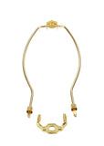 "# 20003-12 9"" Lamp Harp with Saddle in Polished Brass Finish, 2 Pack"
