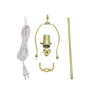 # 21024, Make-A-Lamp Kit in Brass, 1 Pack