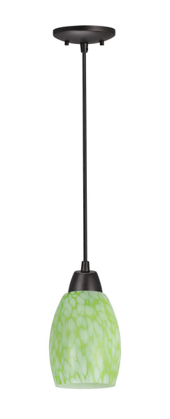 # 21037-21 , One-Light Hanging Socket Mini Pendant Kit in Oil Rubbed Bronze and 4 feet of SVT Cord