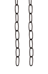 "# 21101-2 36"" Decorative Light Fixture Chain in Oil Rubbed Bronze, 2 Pack"