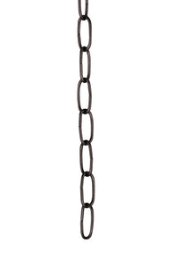 "# 21101 36"" Decorative Light Fixture Chain in Oil Rubbed Bronze"