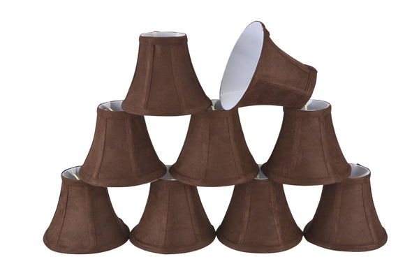 30038 x small bell shape mini chandelier clip on lamp shade 30038 x small bell shape mini chandelier clip on lamp shade transitional aloadofball Images