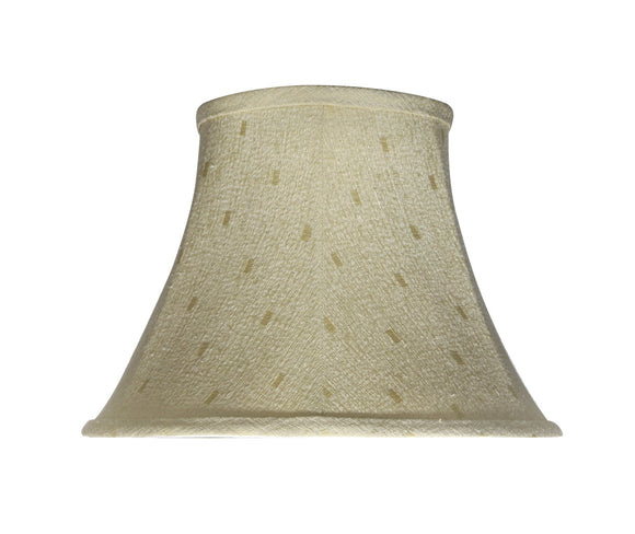 # 30100 Transitional Bell Shape Spider Construction Lamp Shade in Camel, 13