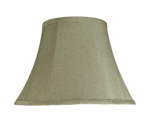 # 30214 Transitional Bell Shape Spider Construction Lamp Shade in Light Beige, 13