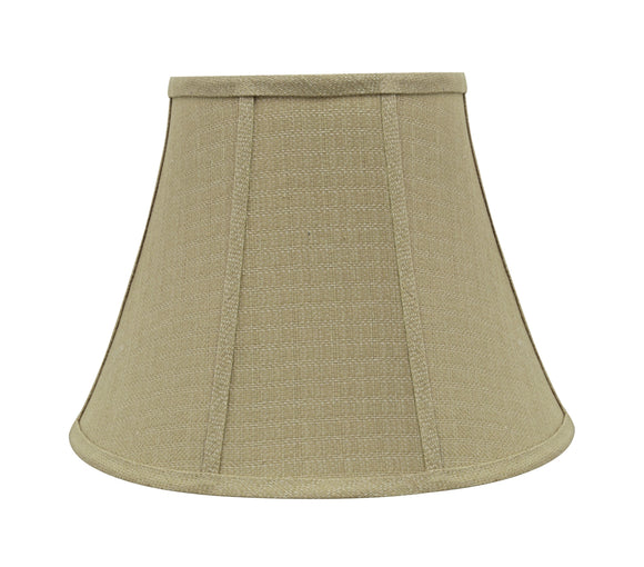 # 30223 Transitional Bell Shaped Spider Construction Lamp Shade in Beige, 13