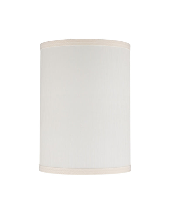 # 31025 Transitional Hardback Drum (Cylinder) Shape Spider Construction Lamp Shade in Eggshell, 8