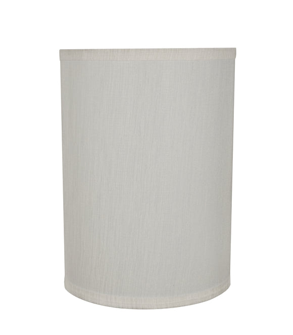 # 31278 Transitional Hardback Drum (Cylinder) Shape Spider Construction Lamp Shade in Eggshell, 8