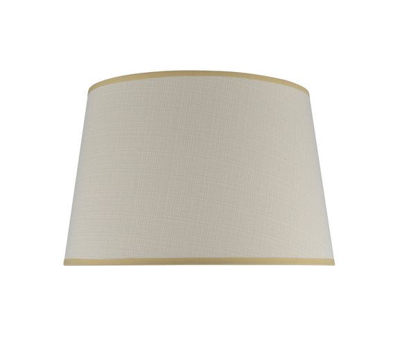# 32026 Transitional Hardback Empire Shape Spider Construction Lamp Shade in Butter Crème, 17