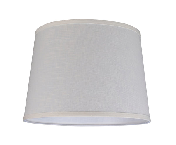 "# 32052 Transitional Hardback Empire Shape Spider Construction Lamp Shade in Off White, 14"" wide (12"" x 14"" x 10"")"