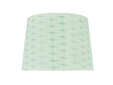 "# 32146 Transitional Hardback Empire Shape Spider Construction Lamp Shade in Light Green, 14"" wide (12"" x 14"" x 10"")"