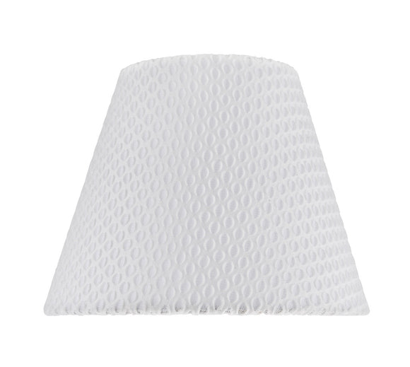 # 32175 Transitional Hardback Empire Shape Spider Construction Lamp Shade in Off-White Network, 9