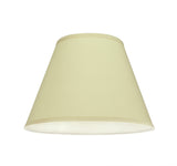 "# 32186 Transitional Hardback Empire Shaped Spider Construction Lamp Shade in Off White, 13"" wide (7"" x 13"" x 9 1/2"")"