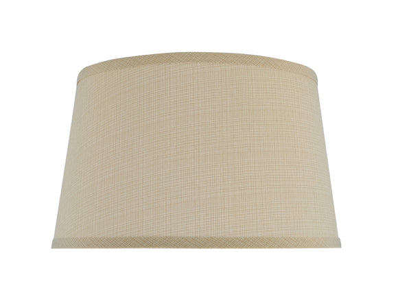 # 32231 Transitional Hardback Empire Shape Spider Construction Lamp Shade in Sand Fabric, 14