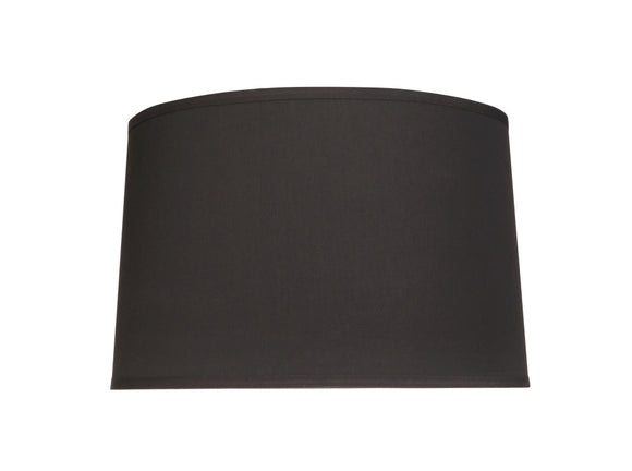 # 32242 Transitional Hardback Empire Shaped Spider Construction Lamp Shade in Grey & Black, 12