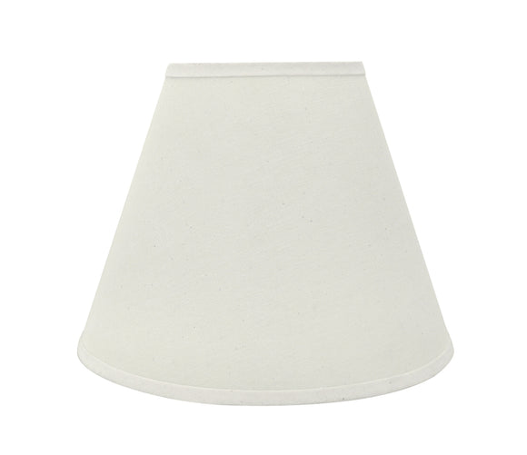 # 32290 Transitional Hardback Empire Shaped Spider Construction Lamp Shade in Off White, 14