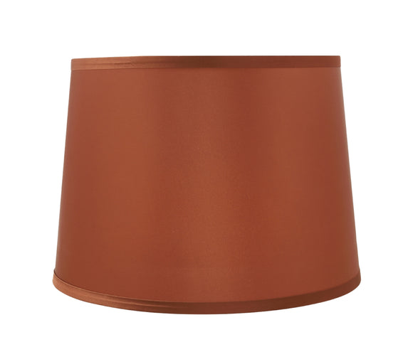 # 32307 Transitional Hardback Empire Shaped Spider Construction Lamp Shade in Burnt Orange, 14