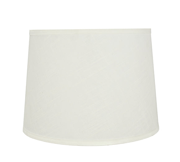 # 32322 Transitional Hardback Empire Shaped Spider Construction Lamp Shade in Off White, 14