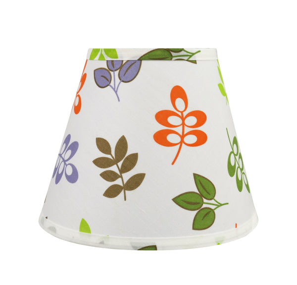 "# 32420 Transitional Hardback Empire Shaped Spider Construction Lamp Shade in Off White, 9"" wide (5"" x 9"" x 7"")"