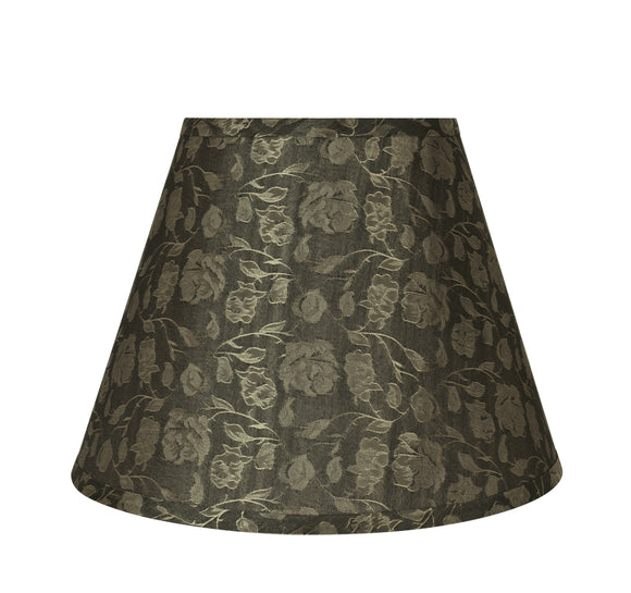 # 32686 Transitional Hardback Empire Shaped Spider Construction Lamp Shade in Light Brown, 13