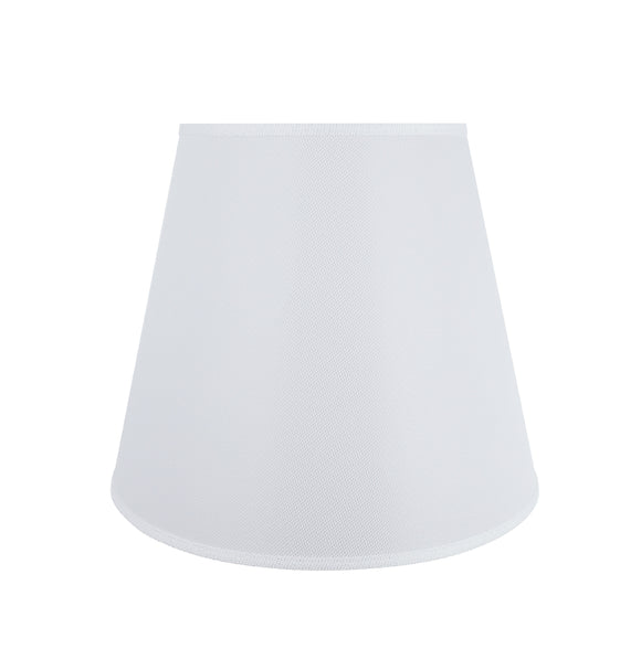 # 32802 Transitional Hardback Empire Shape Spider Construction Lamp Shade in White, 18