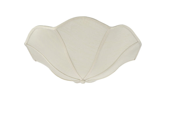 # 39004 Ceiling Clip-on Lamp Shade (1 Pack), Transitional Design in Apricot Faux Linen Colored Fabric, 13