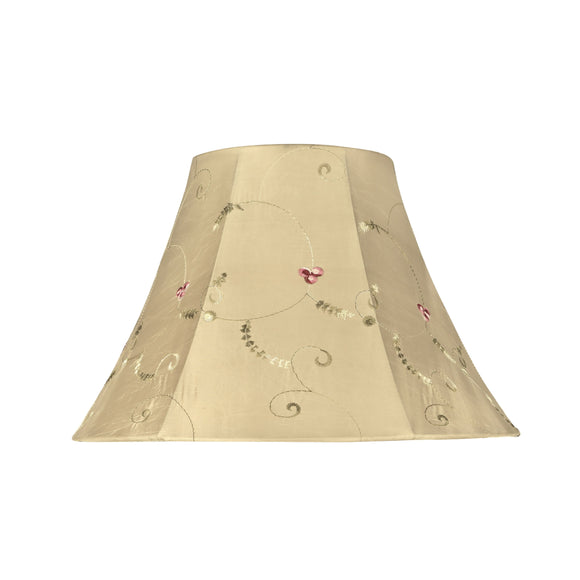 # 58001 Transitional Bell Shape UNO Construction Lamp Shade in Gold, 13