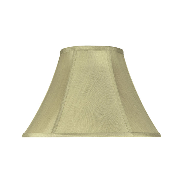 "# 58002 Transitional Bell Shape UNO Construction Lamp Shade in Beige, 13"" Wide (6"" x 13"" x 9"")"