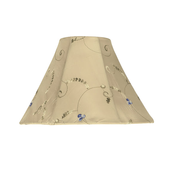 # 58026 Transitional Bell Shape UNO Construction Lamp Shade in Gold, 10