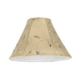 "# 58026 Transitional Bell Shape UNO Construction Lamp Shade in Gold, 10"" Wide (4"" x 10"" x 7"")"
