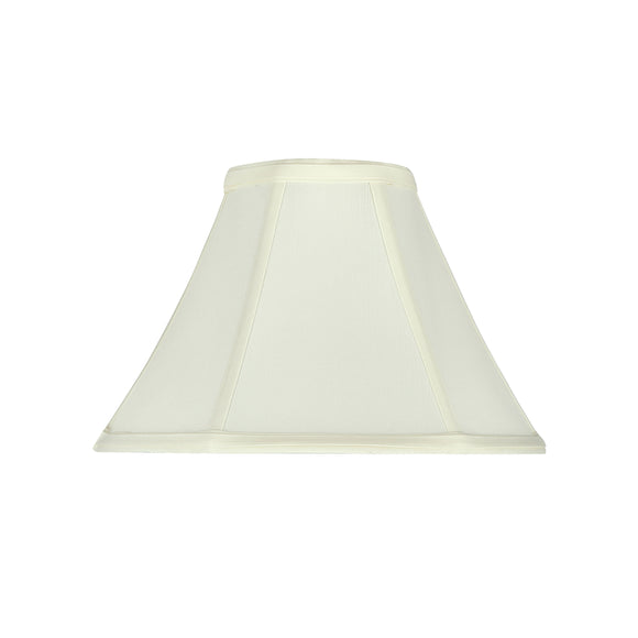 # 58027 Transitional Bell Shape UNO Construction Lamp Shade in Off White, 10