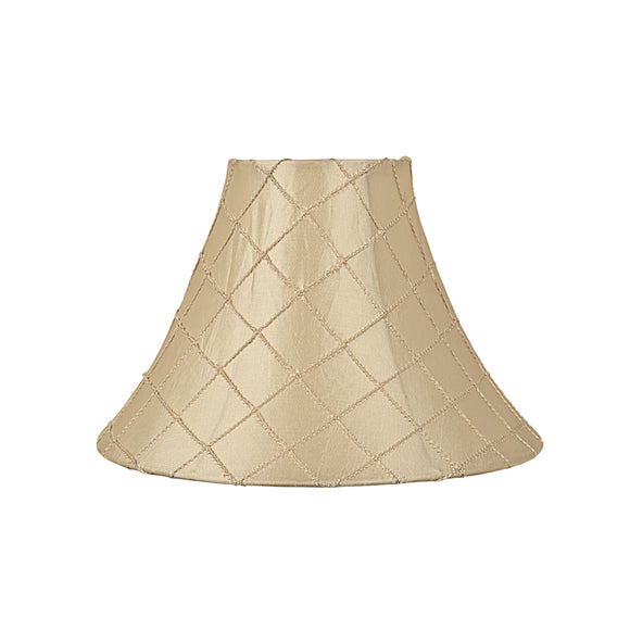 # 58031 Transitional Bell Shape UNO Construction Lamp Shade in Beige, 10