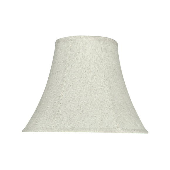 # 58052 Transitional Bell Shape UNO Construction Lamp Shade in Linen White, 14