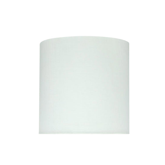 # 58302 Transitional Drum (Cylinder) Shape UNO Construction Lamp Shade in Off White, 8