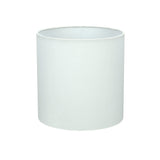 "# 58302 Transitional Drum (Cylinder) Shape UNO Construction Lamp Shade in Off White, 8"" Wide (8"" x 8"" x 8"")"