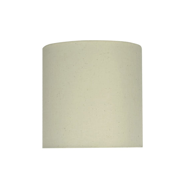 # 58303 Transitional Drum (Cylinder) Shape UNO Construction Lamp Shade in Off White, 8