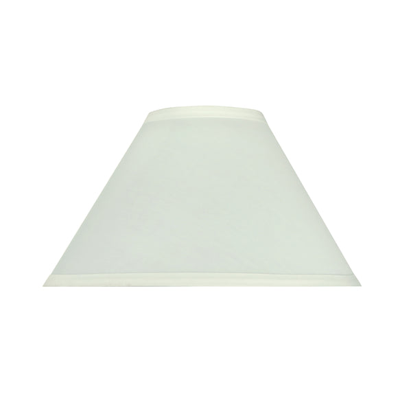 # 58701 Transitional Hardback Empire Shape UNO Construction Lamp Shade in Off White, 11