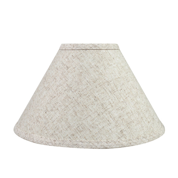 # 58703 Transitional Hardback Empire Shape UNO Construction Lamp Shade in Beige, 11