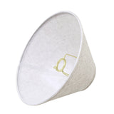 "# 58703 Transitional Hardback Empire Shape UNO Construction Lamp Shade in Beige, 11"" Wide (4"" x 11"" x 7"")"
