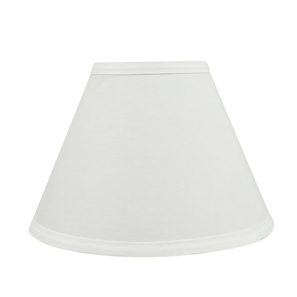 # 58726 Transitional Hardback Empire Shape UNO Construction Lamp Shade in Off White, 9